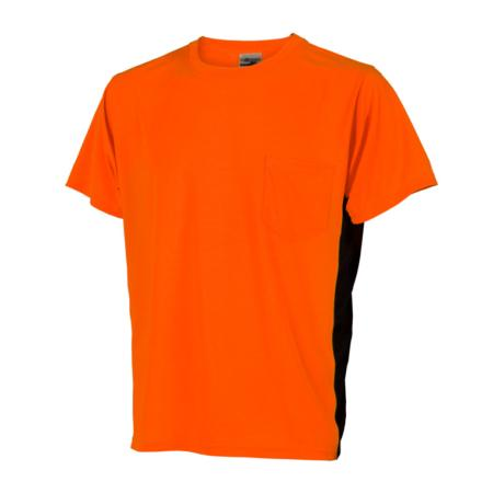 ML Kishigo Non-ANSI T-Shirts Premium Black Series High Vis T-Shirt - Large -  Orange - 9201L
