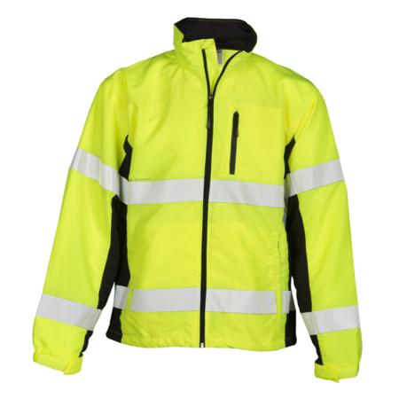 ML Kishigo Outerwear Premium Black Series Windbreaker - Medium -  Lime - WB100M