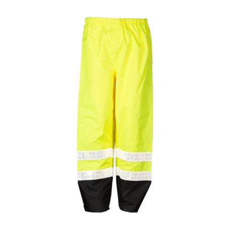 ML Kishigo Rainwear Storm Stopper Pro Rainwear - Small-Medium -  Lime Pants - RWP100S