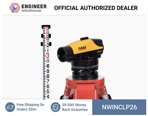 Northwest Instrument 26x Contractor's Automatic Level Package - NCLP26