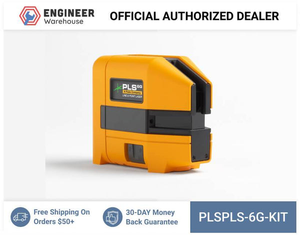 Pacific Laser Systems PLS 6G Combination Line and 4-Point Green Laser Kit - PLS 6G KIT