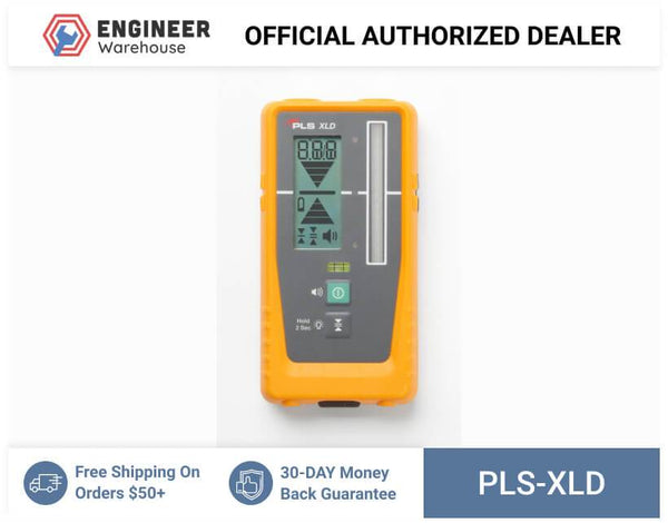Pacific Laser Systems Rotary Laser Detector with Clamp - PLS XLD