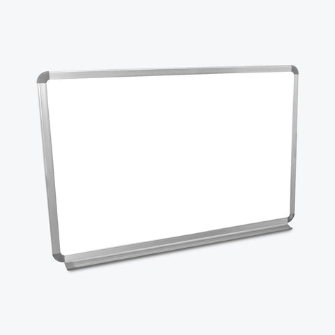 "Luxor Wall-Mountable Magnetic Whiteboard 36"" x 24"" (White/Silver) - WB3624W"