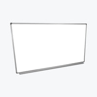 "Luxor Wall-Mountable Magnetic Whiteboard 72"" x 40"" (White/Silver) - WB7240W"