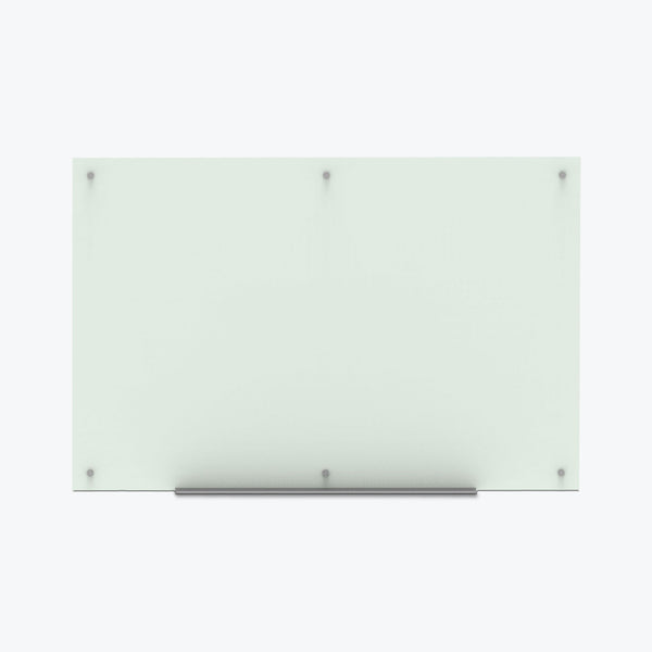"Luxor Magnetic Wall-Mounted Glass Board 60""x40"" (Frosted) - WGB6040M"