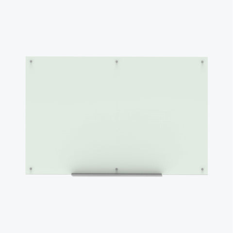"Luxor Magnetic Wall-Mounted Glass Board 72""x48"" (Frosted) - WGB7248M"