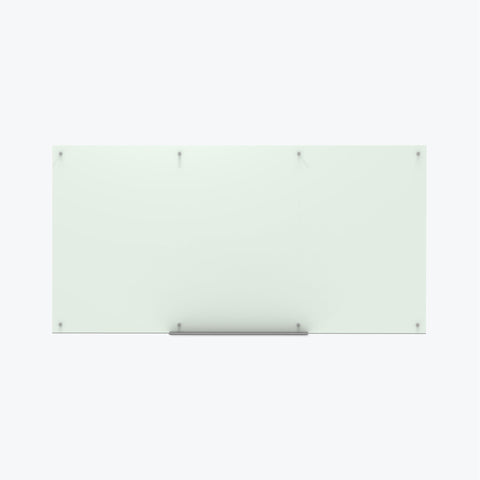 "Luxor Magnetic Wall-Mounted Glass Board 96""x48"" (Frosted) - WGB9648M"