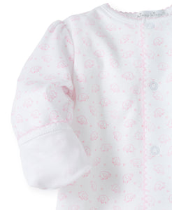 Ele-fun footie print-infant