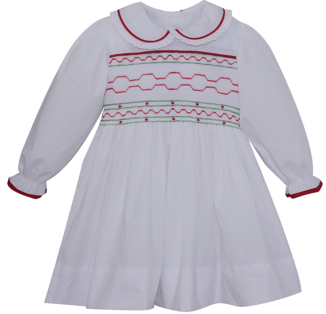 World Rejoicing Smocked Dress
