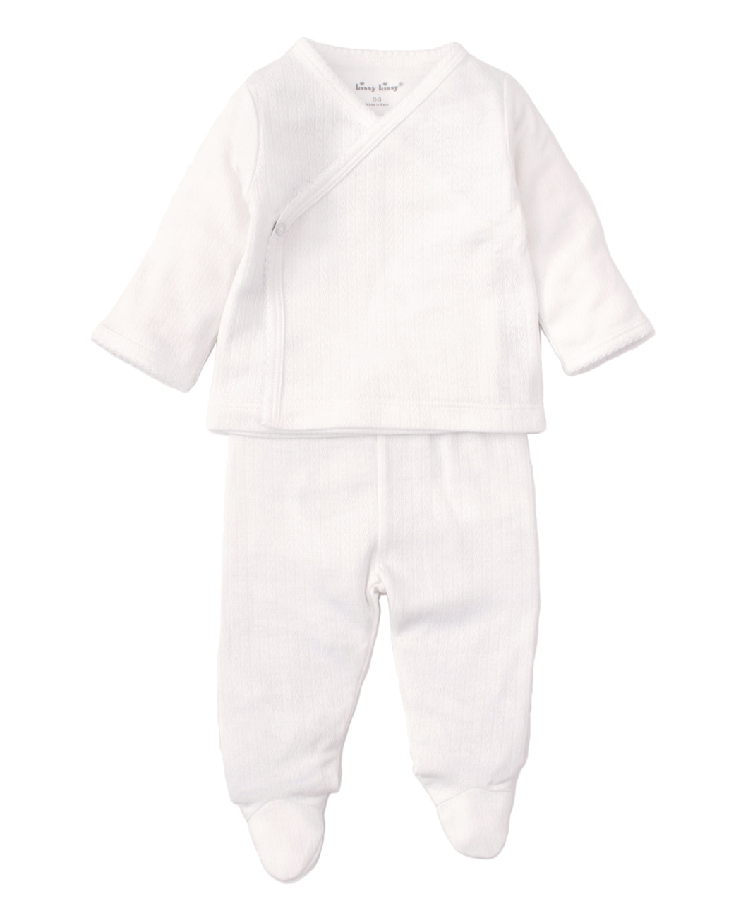 2 pc kissy pointelle set-infant