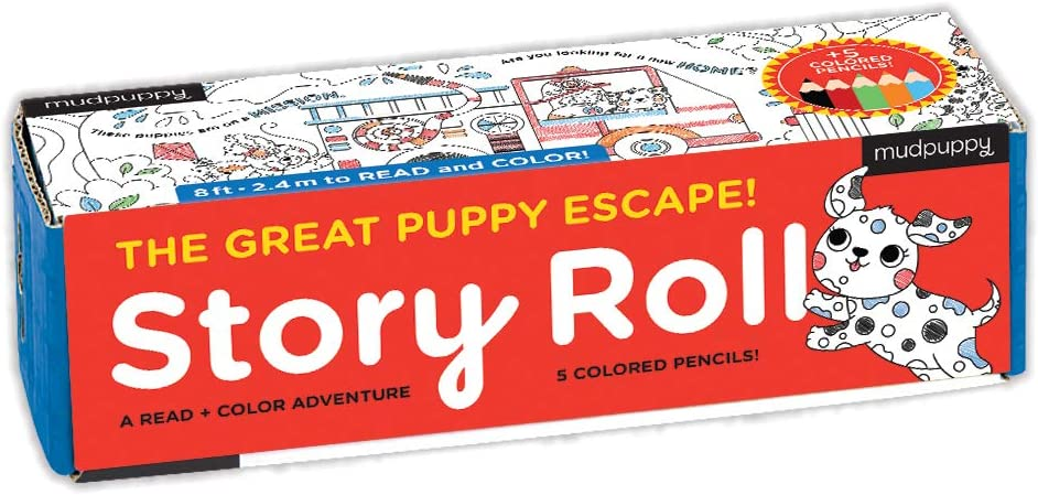 The Great Puppy Escape Story Roll
