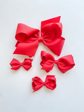 Load image into Gallery viewer, Red Hair Bow
