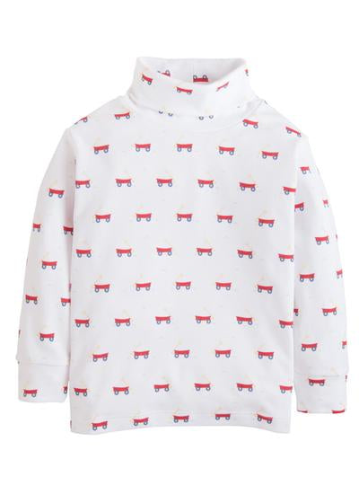 Wagon Printed Turtleneck