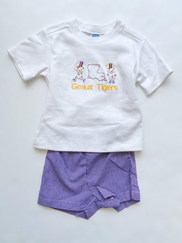 LSU Spirit Shortset -  Toddler Boys