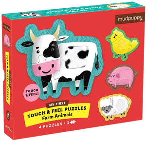 First Touch and Feel Farm Puzzle