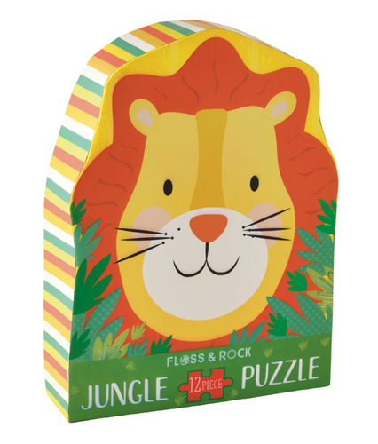 Jungle Puzzle 12PC Lion