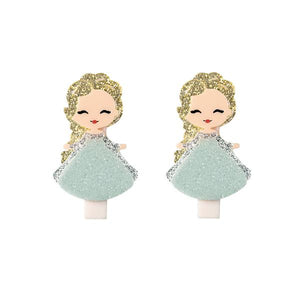 Alligator Clip - Cute Doll - Elsa