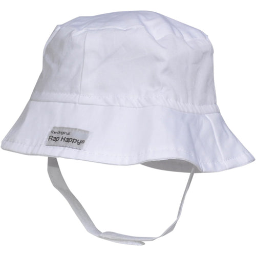 UPF 50+ Bucket Hat White