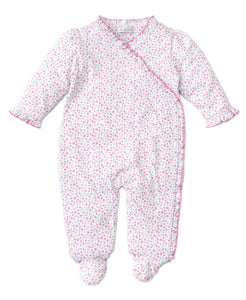 Flowering Flamingos Footie-infant