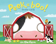 Load image into Gallery viewer, Peekaboo! Strolled Cards: On the Farm