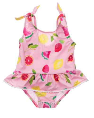 Fruit Fiesta Skirt Swimsuit