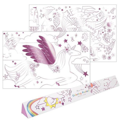 Unicorn Coloring Posters