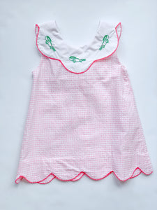 Stitched Alligator Dress-Toddler girls