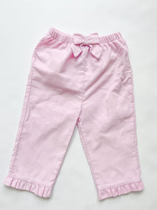 Girls Corduroy Pants 336PG - 4-6 Girls