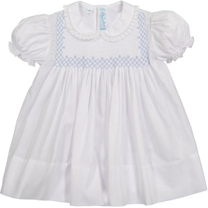 Vintage Smocked Bodice Dress 87424/17470