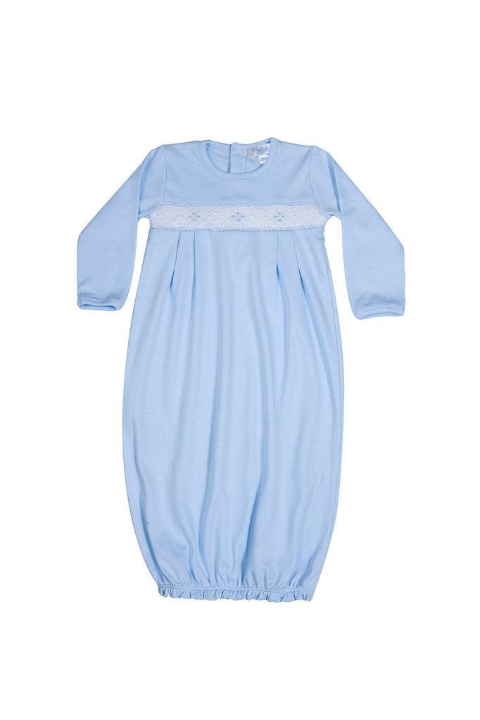 Diamond Smocked Boy Gown