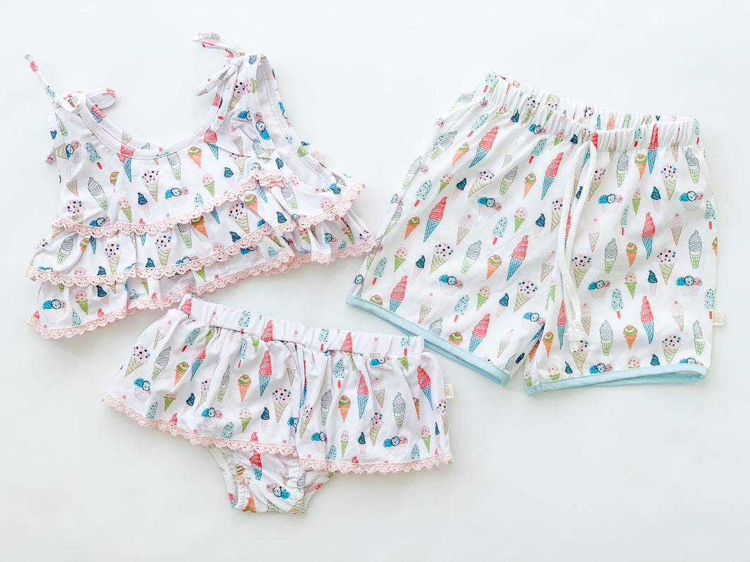 Treats Swim Trunks-Toddler boys
