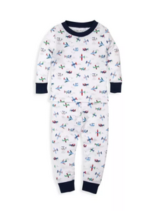 Awesome Airplanes Pajamas Set - Boys