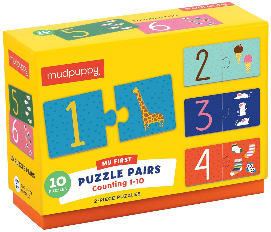 Puzzle Pairs Counting 1-10