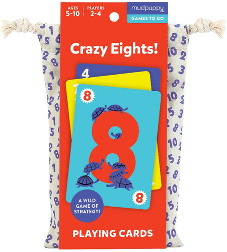 Game Cards To Go: Crazy Eights