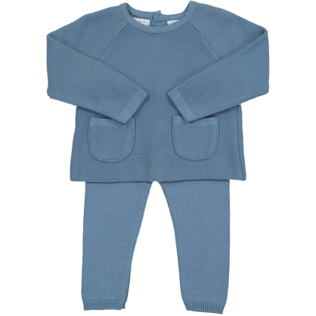 Pocket Knit Set 4908 French Blue