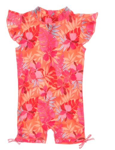 Tropical Punch Flutter Sleeve