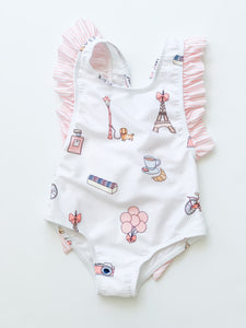 Paris Swimsuit Ruffle- Infant