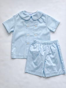 Blue Belle Short Set-Toddler boys