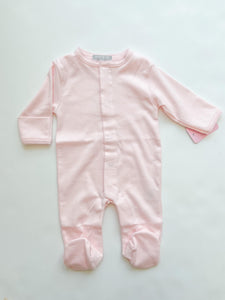 Pink Pima Footie - Infant