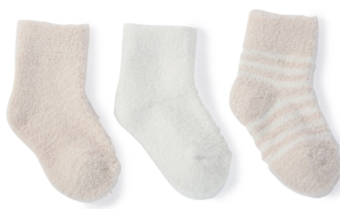 CCL Infant Socks Pink/Pearl