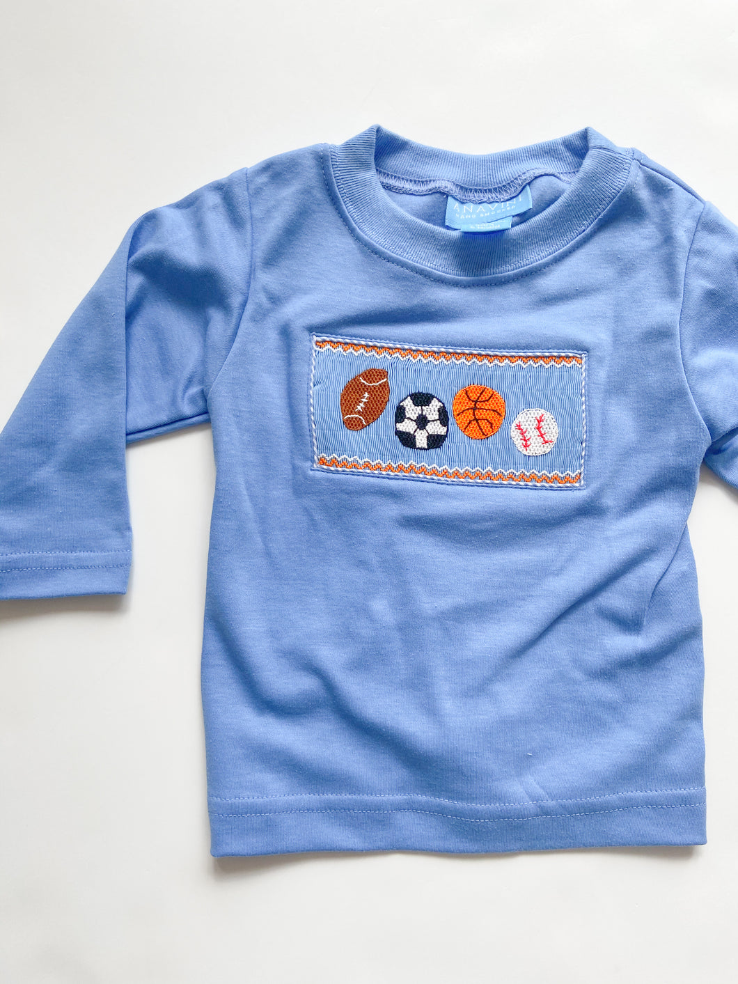 Sports Smocked T-Shirt 310P - Infant