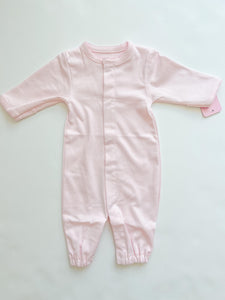 Pink Pima Converter Gown - Infant