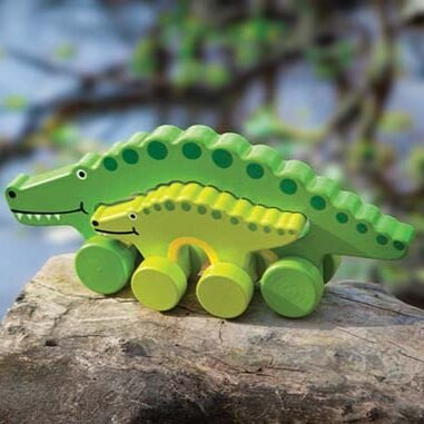 Big and Little Alligator - Toy