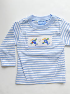 Airplanes Smocked T-Shirt 315P -Infant
