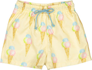 Ice Cream Swim Trunks