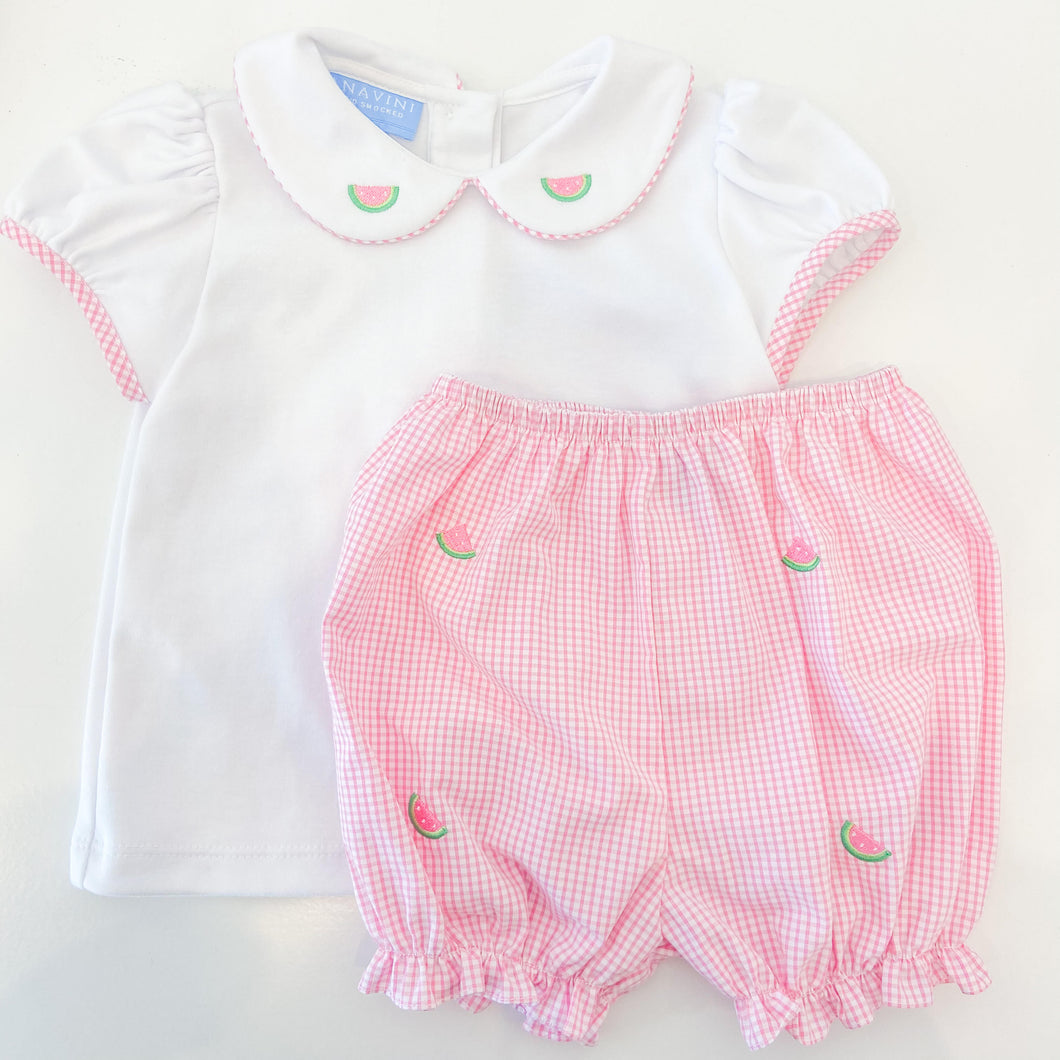 Watermelon Girls Diaper Set