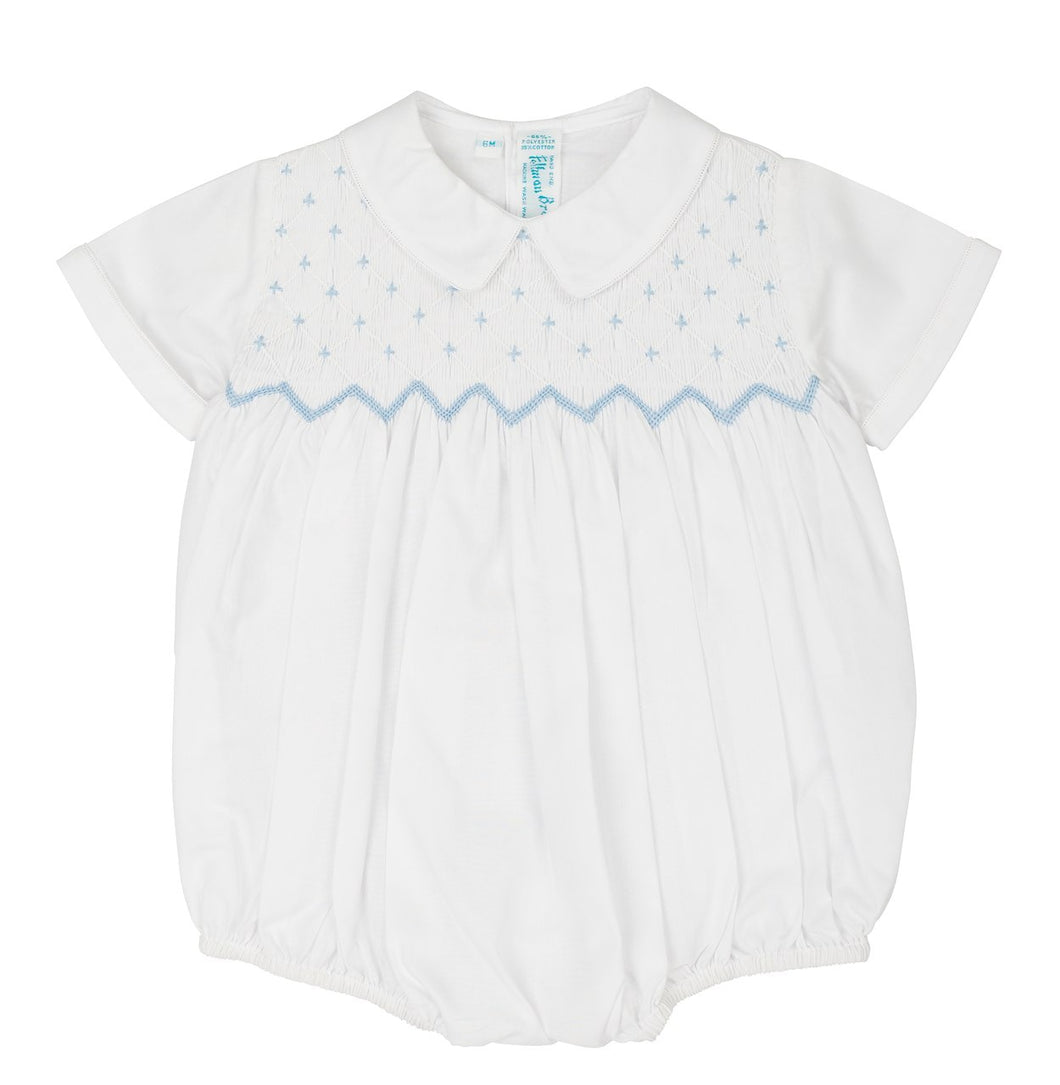 Diamond Smock Romper-infant
