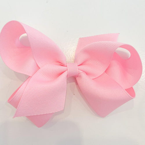 Pearl Pink Hair Bow