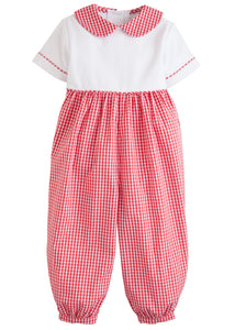 Peter Pan Romper Red - Infant