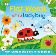 Load image into Gallery viewer, First Words with A LadyBug
